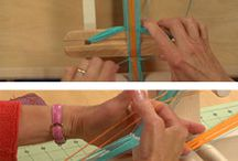 Inkle Loom Weaving / small loom weaving, inkle