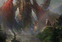 caballeros y dragones