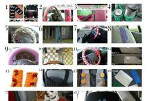 crochet,accesorios coche
