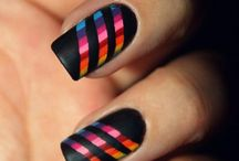 * Taping Nail Art Design Ideas / Looking for a lot of Simple Tutorials for nail designs?  If you try one of these designs, please share by posting your photo on my Facebook fanpage www.facebook.com/MyBlissKiss / by Bliss Kiss