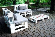 Pallet / Mobili e oggetti ricavati tramite il riutilizzo di bancali