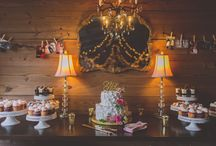 Cross Creek Ranch Dessert Table / Cross Creek Ranch is an all-inclusive wedding venue located in Dover, FL. Please visit our website & contact us today at (813)651-0934!