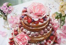 Wedding Cakes / Beautiful original wedding cakes made by Llys Meddyg