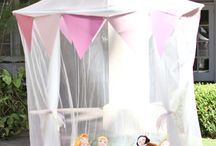 Annie's princess party