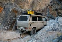 Adventures in a VW Syncro