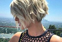 Short Styles / Pixies, layered bobs