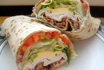 Recipes- sandwiches & wraps / by Kelly Kalp