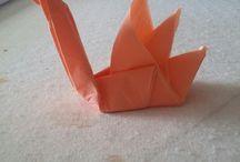 pliage de serviette et origami