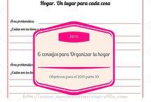 PROPÓSITOS / OBJETIVOS PARA EL 2015 / Ideas para crearte #objetivos o nuevos #propósitos para el #2015