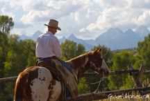 Dude ranches / Horseback riding vacation for the whole family-- grosventreriverranch.com.