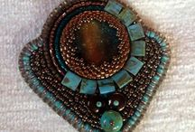 nagybzsuzsa's beads / Bead, bead embroidery,