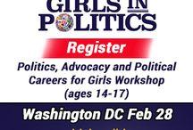 Girls in Politics Initiative™ Camps & Programs / Girls in Politics Initiative hosts events in 31 US cities #London, #Paris, #Vancouver, #Toronto, #Calgary, #Mexico City and Sydney.