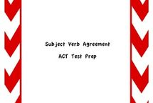 ACT Prep / by Jessica Connaway
