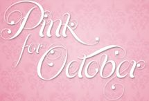 Cancer Awareness in October. / Help is always needed.