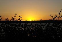 PÔR DO SOL / Pôr do Sol em Praia de Jacaré - Cabedelo-PB - Brasil
