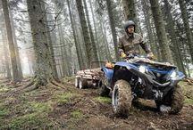 Yamaha Grizzly -надежный мотовездеход