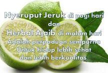Manfaat nyeruput jeruk di pagi hari