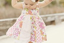 Baby Girl / Baby Girl Dress Fashion Clothing / by Martin Lepage