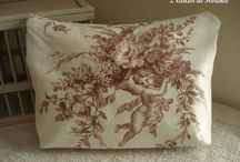 FRENCH TOILE DE JOUY / ANGELS, ROSES & OTHERS