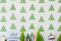 Anniversaire thème Woodland / #Anniversaire #Birthday #Woodland #AnimauxDesBois #WoodlandParty