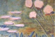 Floral / Spring captured Acrylic on canvas (gallery quality)  All art is copyright
