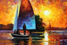 Leonid Afremov / One of my favorite modern impressionists