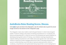 AudioBooks & Why I love them! / Here are some great audiobook resources for at school and at home.