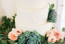 Wedding cake ideas / Rustic woodland  Maybe two tiers maybe one banana and one something else?