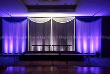 Renaissance Schaumburg Weddings | Elegant Event Lighting / A collection of custom lighting & decor designs we have created for our Renaissance Schaumburg Couples. www.EELchicago.com