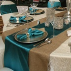 """Tablecloth Rentals / Elegant linen rentals by Beyond Elegance to accent your wedding decor at """"Affordable Pricing""""!"""