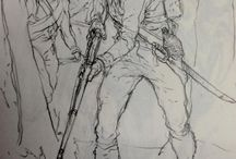 drawing naoleonics / References and inspiration to draw soldiers during the Napoleonic Wars