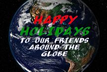 Happy Holidays / How we express our holiday cheer!