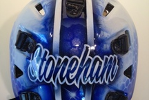 Charity Mask - Stonheam / Unbelievable story on this new mask.  Our owner and artist is quiet about his work for great causes so we thought we'd share it here.  An amazingly great cause got a Slater original.  Local business owners - join the cause and donate! https://www.facebook.com/SYHPetronefundraiser