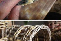 плетение корзин и венков
