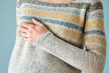 Strikk, genser og jakke