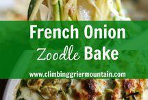 Zucchini French onion