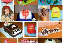 Yummy - Themed Cups'n Cakes / DIY Motiv Torten und Cupcakes DIY Themed or special decorated Cakes and Cupcakes  / by Silvia Belhadj