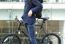 自転車コーデ