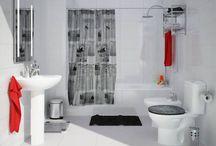 Baños / Decoracion para baños, aprende a decorar tu baño, baños modernos, baños pequeños, baños de todo tipo
