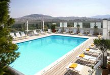 Swimming Pool & Fitness  / Outdoor Swimming Pool On the roof top (8th floor), the outdoor swimming pool offers a breathtaking view to Lycabettus Hill (summer only).   Fitness Center  Fully equipped gymnassium with hi-tech equipment. Sauna, Steambath.  www.rbathenspark.com