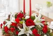 Christmas Flowers & Centerpieces