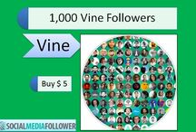 Buy Vine Followers / Vine is the newest social media app for smartphone users to share videos. When you buy vine followers cheap you get to connect with millions of fans.