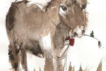 aquarel ezels