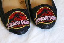 Larkham Asylum shoes / Customised shoes