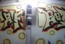 graffity / karya seni tangan dan cat
