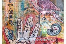 Mixed Media / Mixed media project ideas for the Art classroom