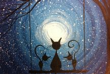luna and cats