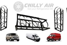 Refrigerant Tank Rack Selection / Refrigerant Tank Rack selection at Chilly Air. Shop high quality freon racks for vans & trucks. Our Refrigerant Tank Rack selection meets OSHA standards.