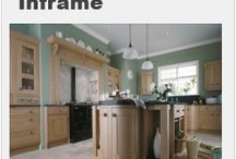 Inframe Kitchens designs / A selection of Inframe kitchen designs from Units Online - www.unitsonline.co.uk/inframe-kitchens