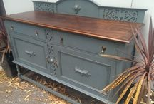 hand painted- sideboards, tables and buffets / Beautifully recreating and restoring preloved furniture into unique pieces that will be loved all over again. Check out www.facebook.com/thehandpaintedfurnitureco for more specific details on sale items or new posts